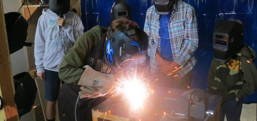 Welding Learning in High School
