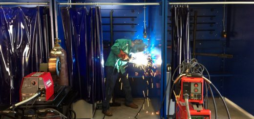 New welding equipment for training