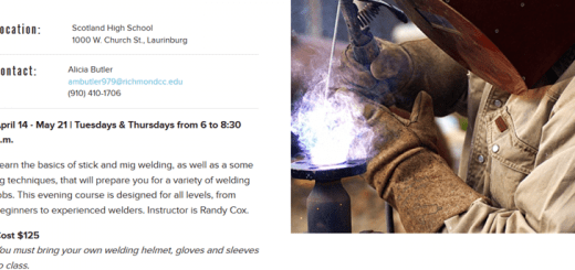 Welding for everyone classes